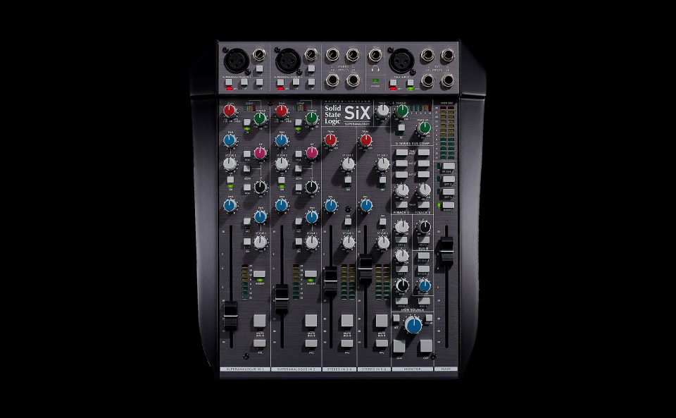 Solid State Logic SiX Desktop Mixer