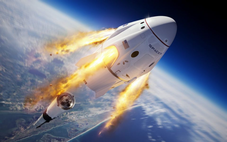 SpaceX Lauches Rocket - News