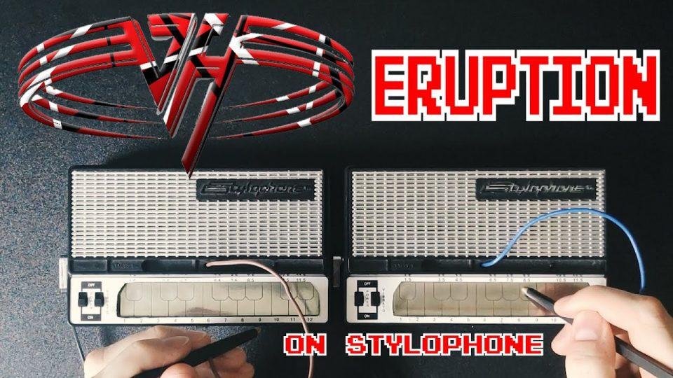 Van Halen - Eruption (Stylophone cover)